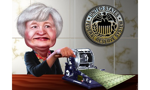 janet-yellen-money-printer