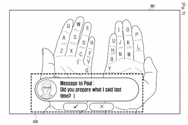 Samsung-AR-keyboard
