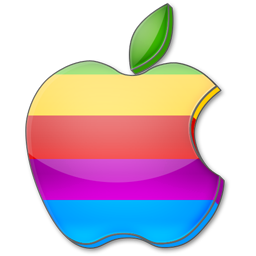 Apple-multicolor-icon